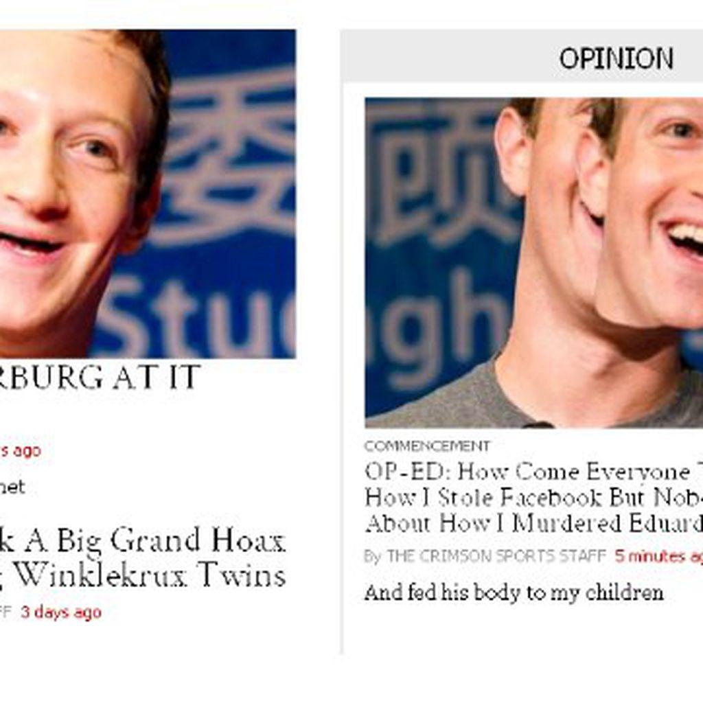 Setitik Noda Kembalinya Zuckerberg ke Harvard