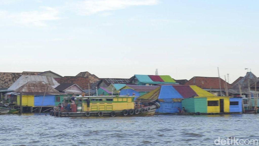 Destinasi Baru di Palembang, Kampung Warna Musi Bercorak