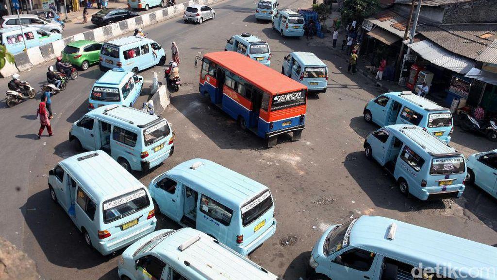 Bayar Bus Hingga LRT di DKI Bakal Pakai Uang Elektronik