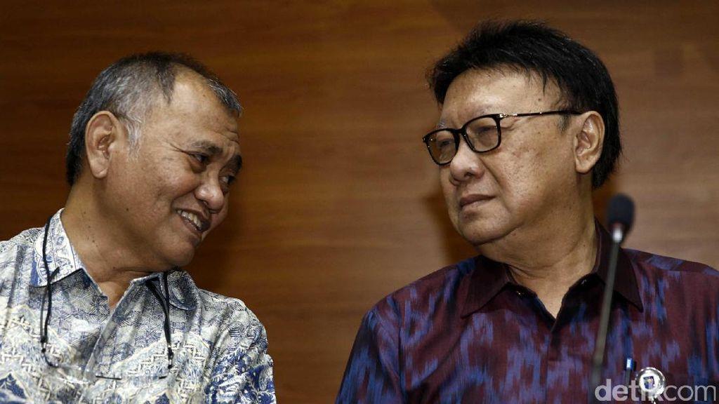 Mendagri: Pemberhentian Ahok Kini Tak Harus Tunggu Banding Jaksa