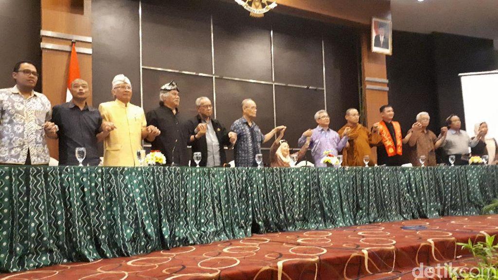 Tokoh Lintas Agama Kumpul di Yogya Serukan Perdamaian
