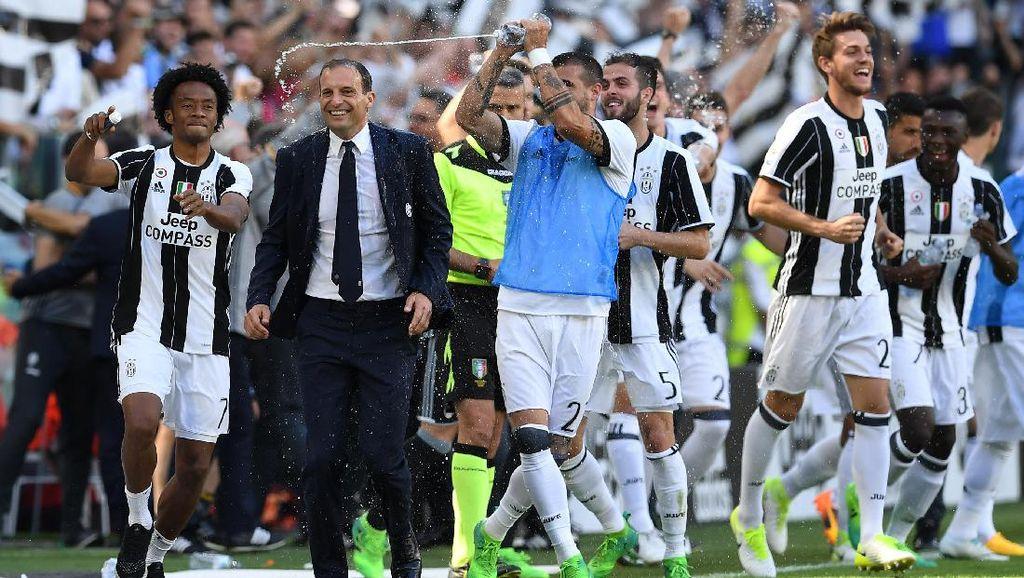 Allegri Tak Tutup Kemungkinan Latih Juventus Lebih Lama