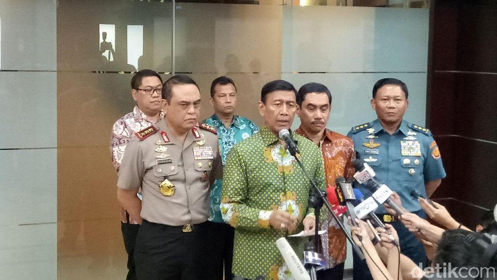 Wiranto: Jaringan Pelaku Bom Kp Melayu Ingin Tunjukkan Eksistensi