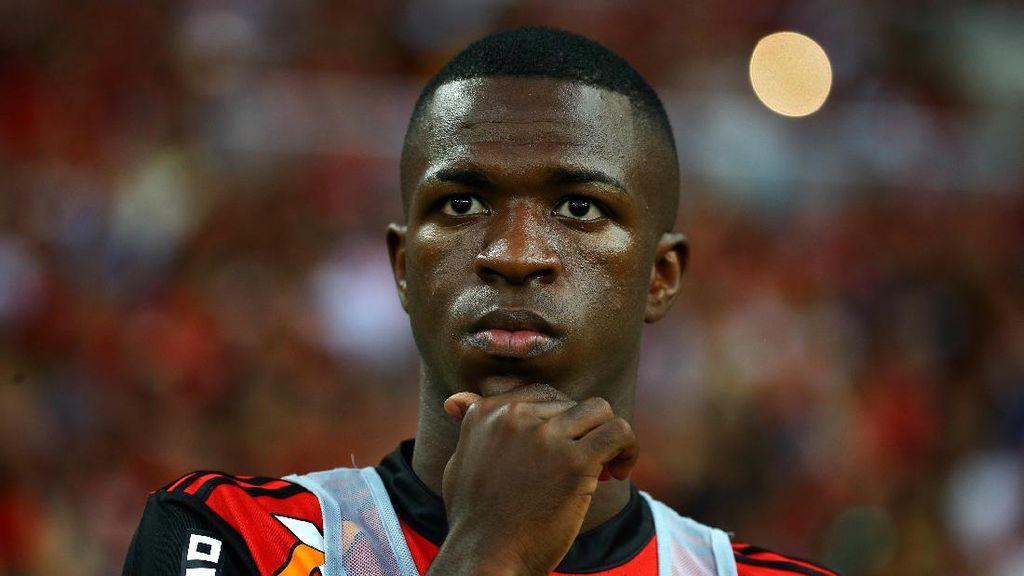 Vinicius Ingin Juara Dulu di Flamengo, Baru Pikirkan Madrid