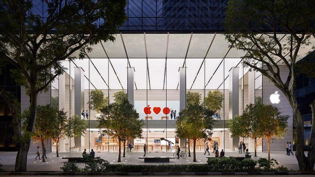 Fakta Menarik Apple Store Singapura