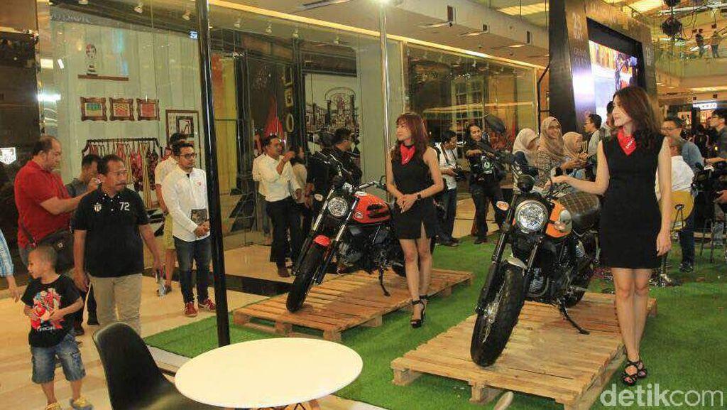Produsen Motor Ducati Rambah Surabaya