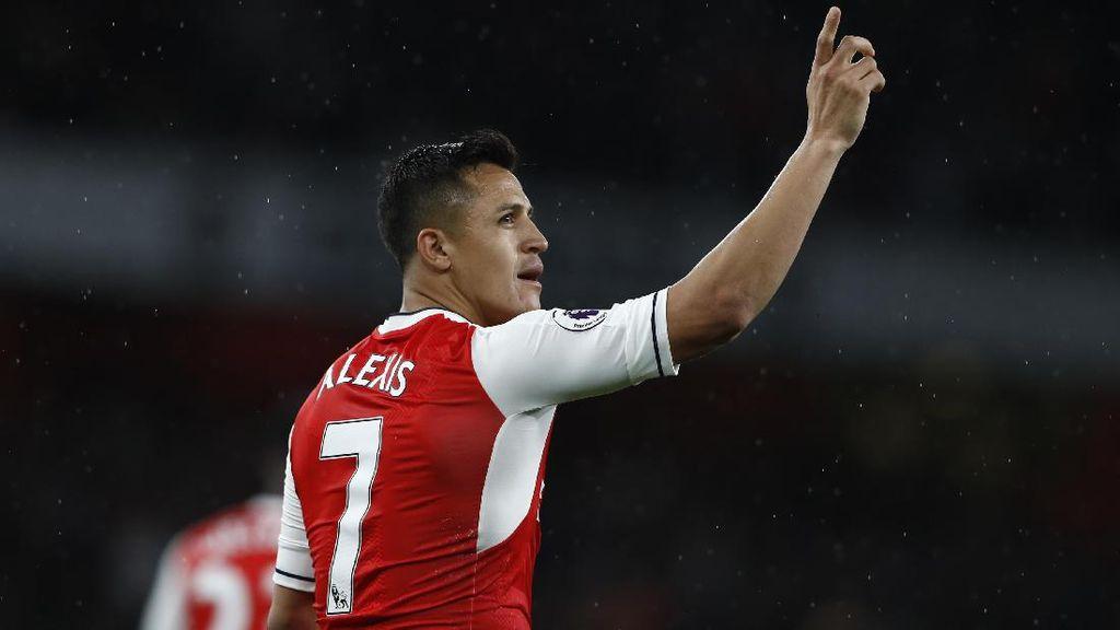 Alexis Sanchez Pemain Terbaik Arsenal Musim Ini