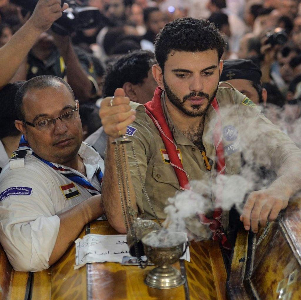 28 Warga Koptik Dibunuh, Mesir Serang Kamp Pelatihan Teroris