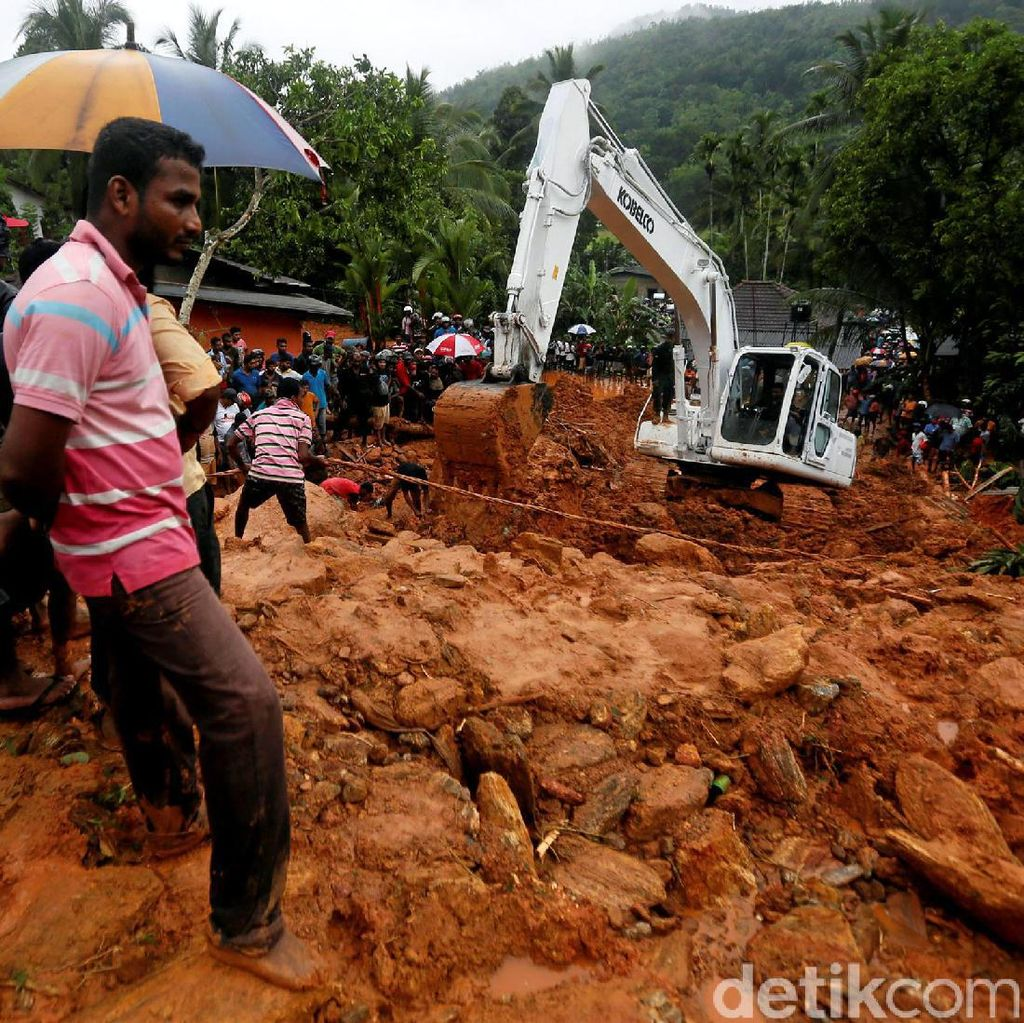 Banjir dan Longsor Melanda, Srilanka Minta Bantuan Internasional