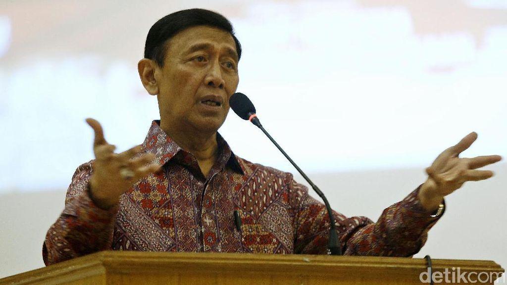 Menko Wiranto Sesalkan Panja DPR Masih Debat Istilah Terorisme