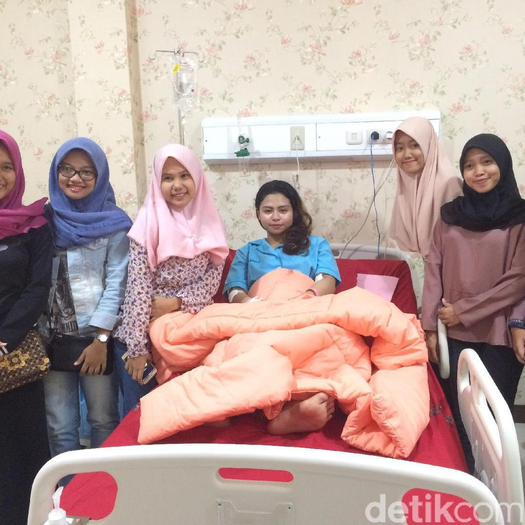 Jihan Korban Bom Kampung Melayu Masih Harus Jalani Operasi Lengan