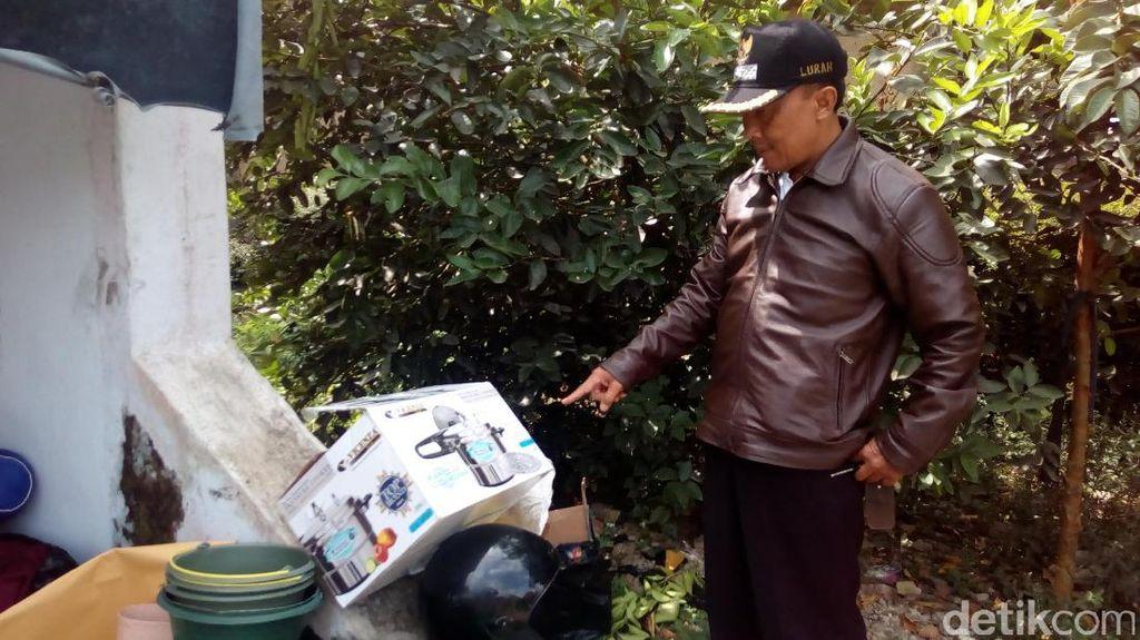 Ada Bekas Kardus Panci di Depan Kontrakan Ahmad Sukri, Warga Curiga