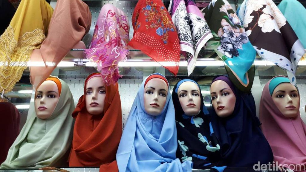 Awal Ramadan, Jilbab Jenis Ini Laris Manis di Pasar Tanah Abang