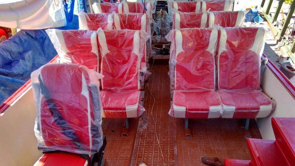 Ini Fungsi Tenaga Surya pada Bus Air yang Bakal Meluncur di Kalimas