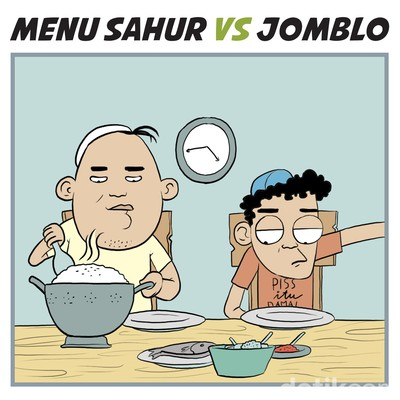 Sahur ala Jomblo