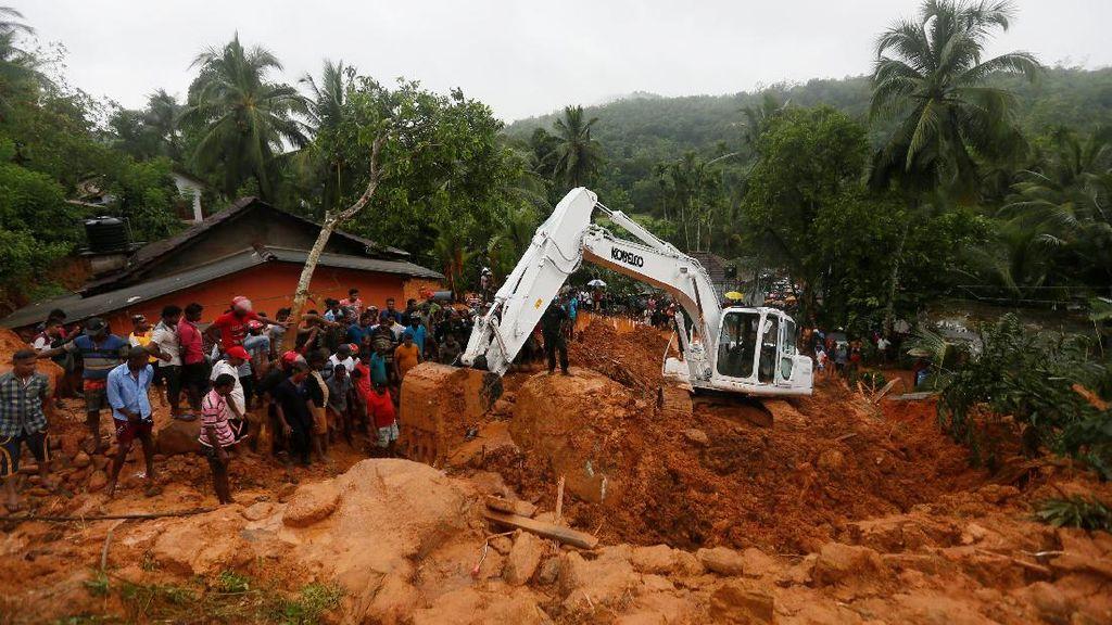 92 Orang Tewas Akibat Banjir dan Tanah Longsor di Sri Lanka