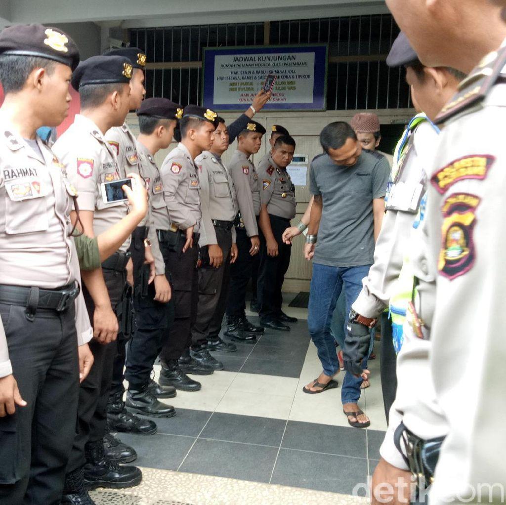 Terkuak, Ada 2 Dalang Kaburnya 17 Tahanan Rutan Palembang