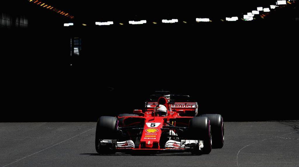 Vettel Tercepat Lagi, Ferrari 1-2