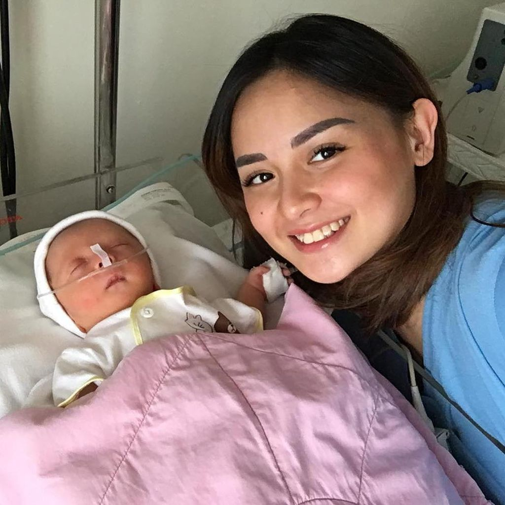 Anak ke-4 Dipasang Alat Bantu Pernapasan, Ini Kata Joanna Alexandra
