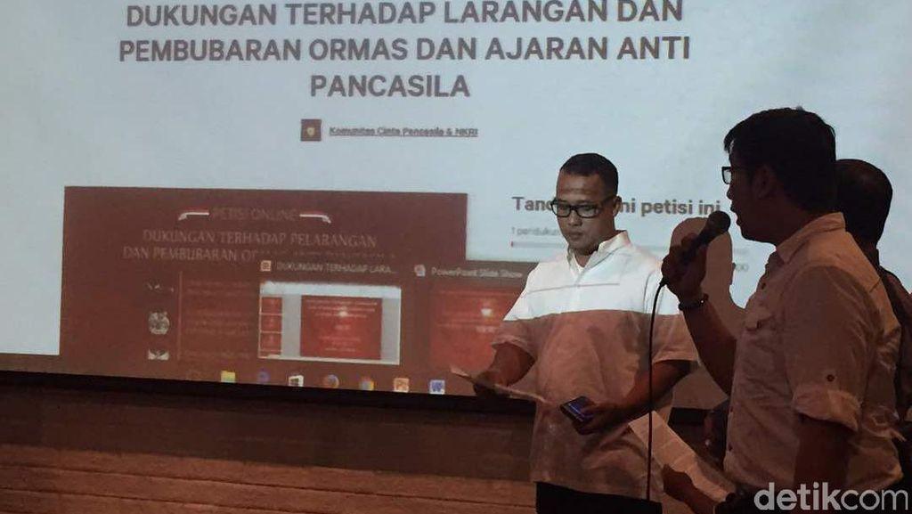 Sejumlah Aktivis Dukung Pemerintah Bubarkan Ormas Anti-Pancasila