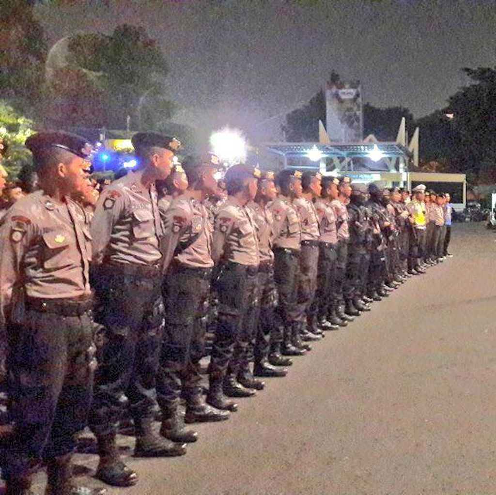 Antisipasi Gangster, Polisi se-Jakarta Gelar Operasi Cipta Kondisi