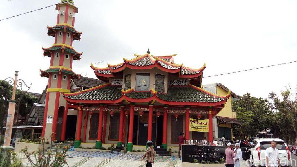 Unik, Masjid Berbentuk Kelenteng di Kota Magelang