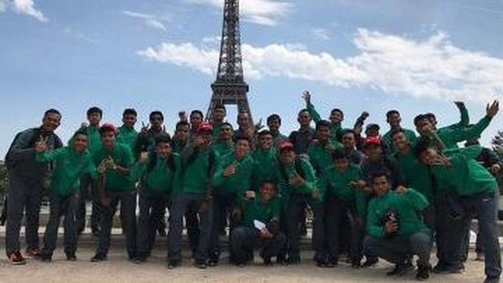 Tiba di Prancis, Timnas U-19 Sempatkan Istirahat Kemudian Latihan Ringan