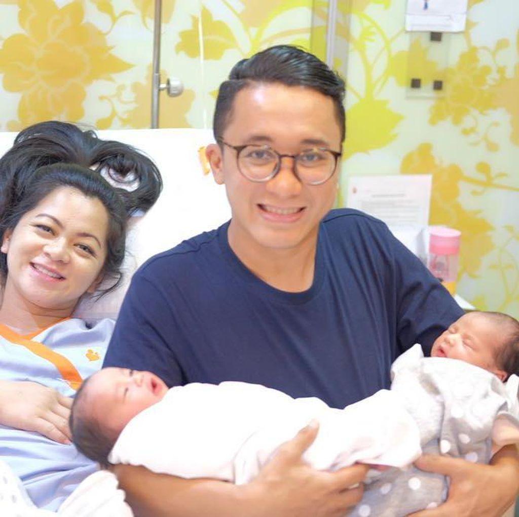Selamat! Istri Bayu Oktara Lahirkan Anak Kembar