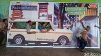 Selama Ramadan, Aktivitas Sudirman Walk Palembang Ditiadakan