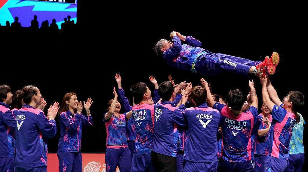 Kalahkan China, Korea Juara Piala Sudirman 2017!