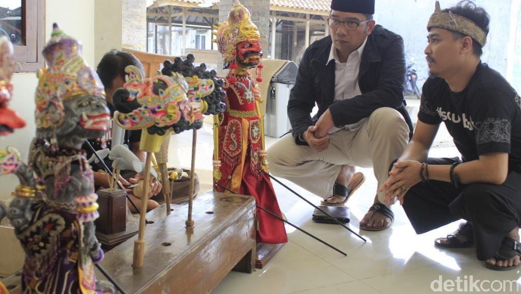 Ide Ridwan Kamil untuk Kesejahteraan Perajin di Kampung Jelekong