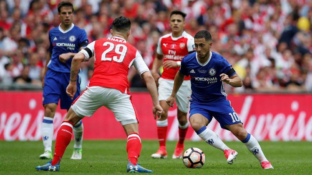 Arsenal Rebut Piala FA Usai Kalahkan Chelsea 2-1