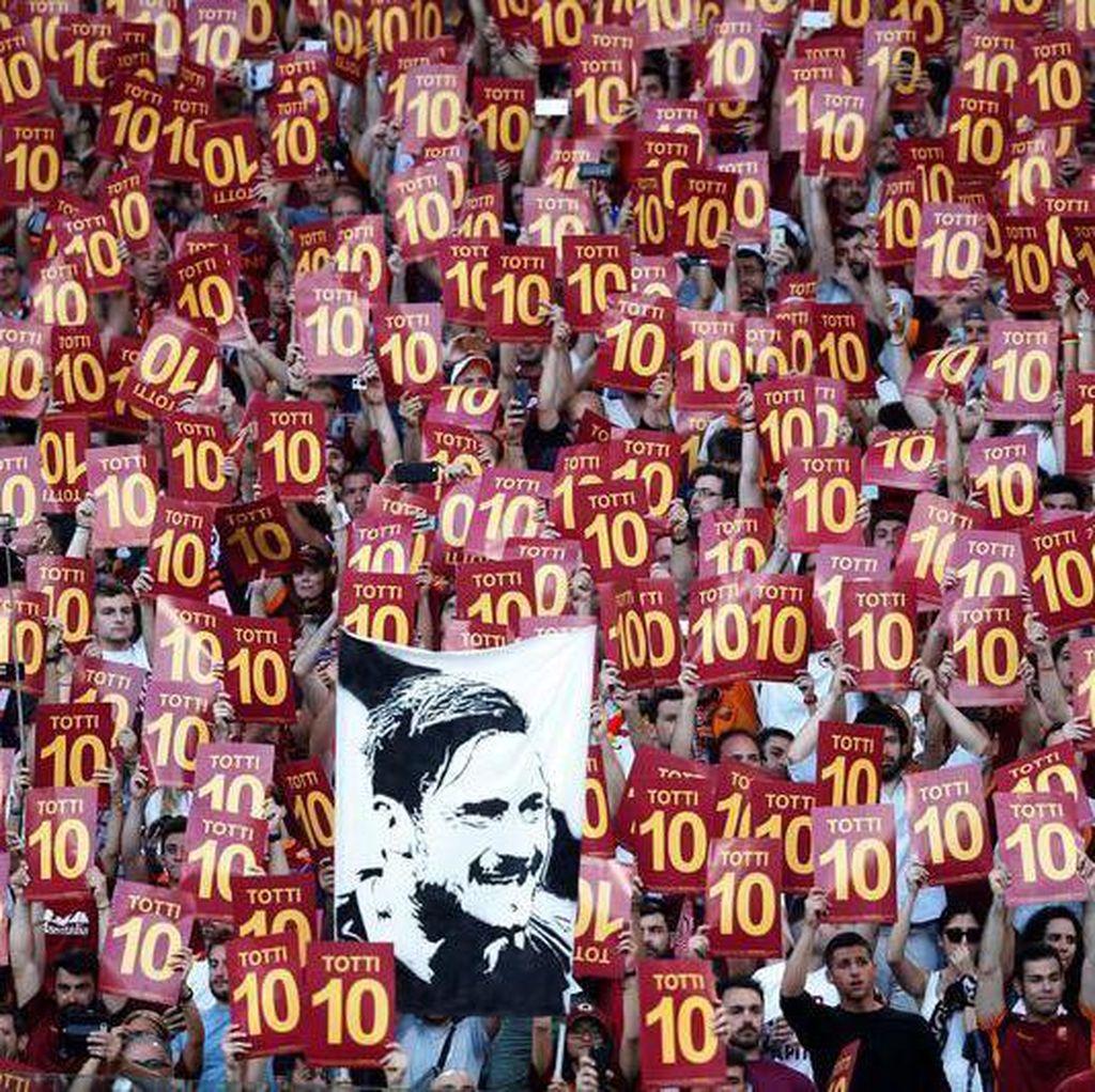 Totti Jadi Raja di Twitter