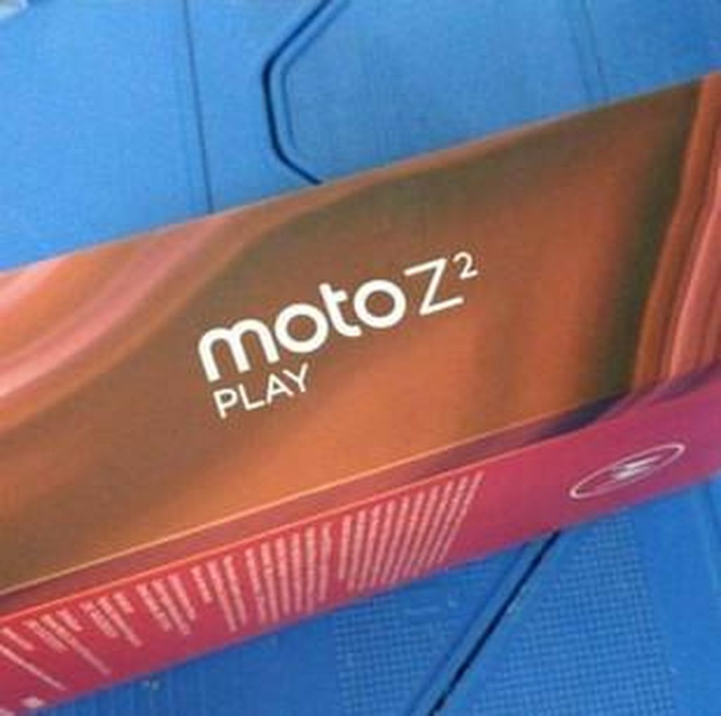 Penerus Moto Z Play Sudah di Depan Mata