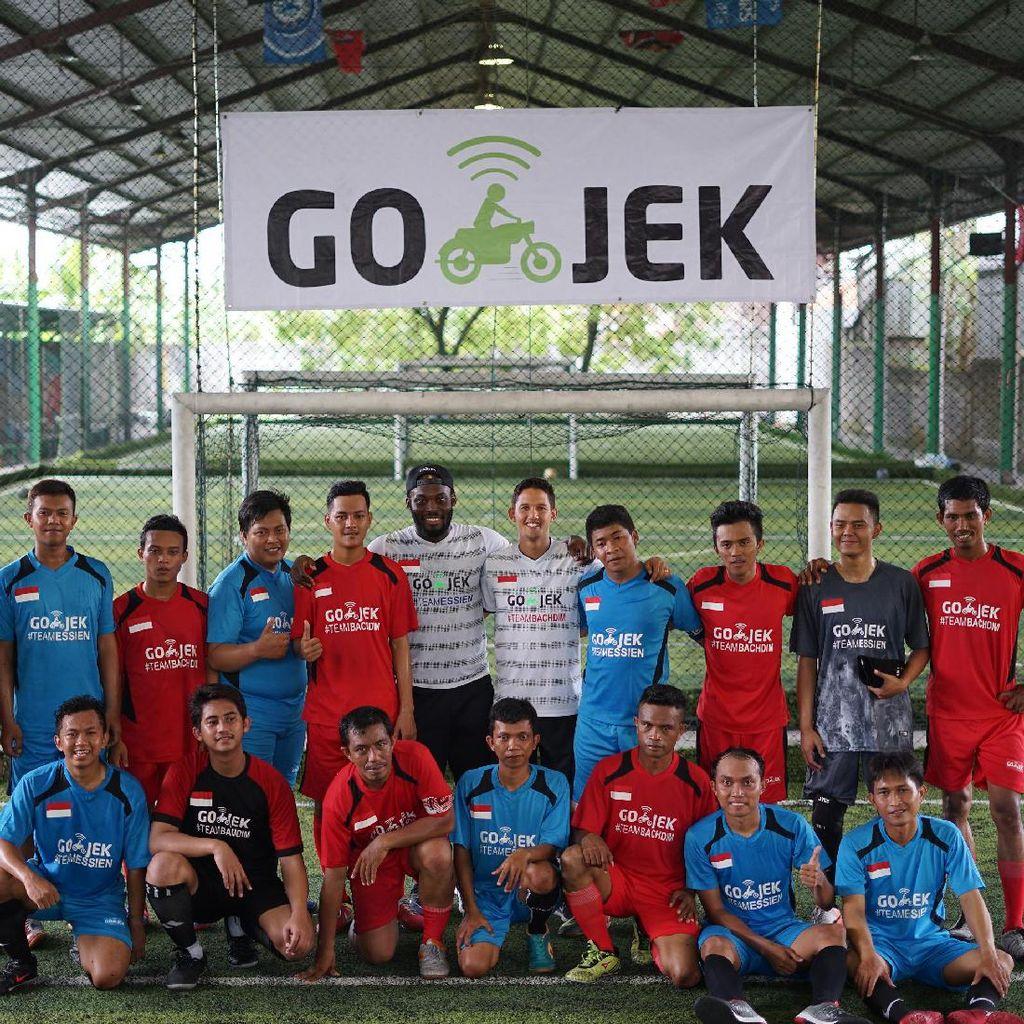 Essien dan Irfan Bachdim Jadi Pelatih Go-Jek