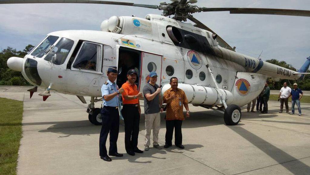 Jelang Kemarau, BNPB Kerahkan 5 Heli ke Riau