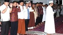 Hari Kedua Ramadan, Jokowi Tarawih di Masjid Andalusia, Sentul