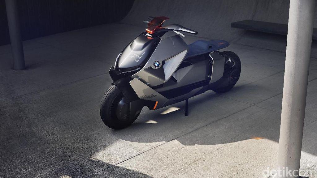 Skuter Masa Depan dari BMW Motorrad