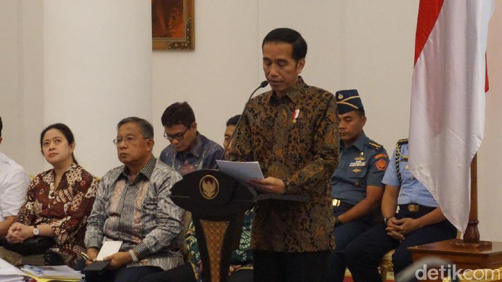 Jokowi: Saya Ingin Revisi UU Terorisme Diselesaikan Secepatnya