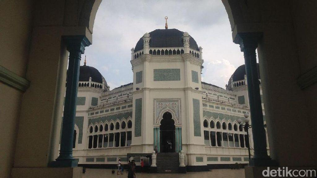 Bubur Sup Ikonik Mesjid Raya Medan Sudah 65 Tahun Jadi Menu Buka Puasa
