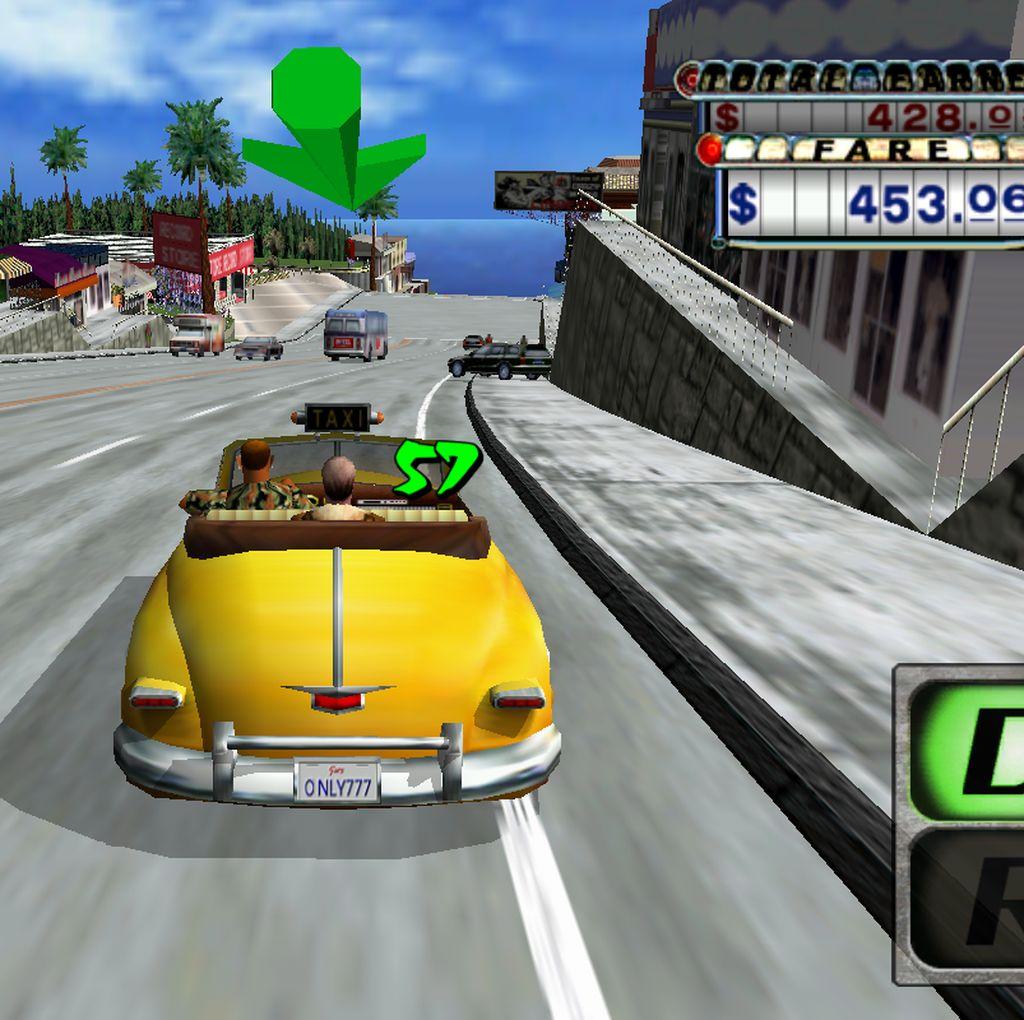 Sega Gratiskan Crazy Taxi Classic di Android dan iOS