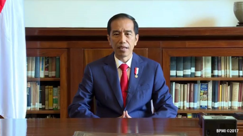Jokowi Rilis Video Saya Pancasila, Saya Indonesia