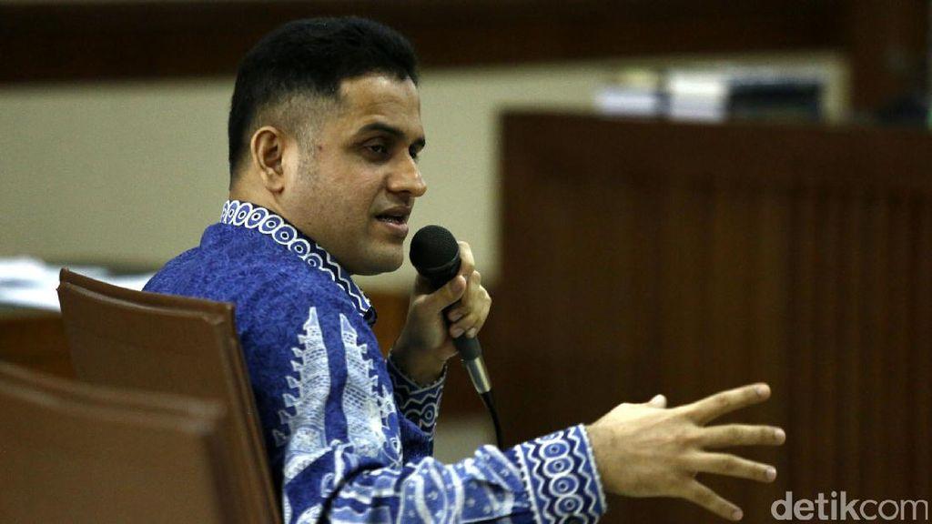 Nazaruddin Bersaksi untuk Choel Mallarangeng