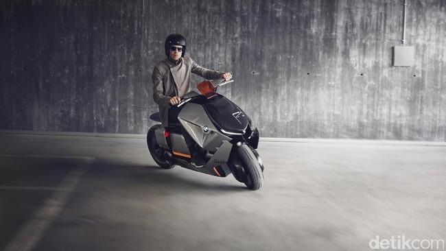 Skutik Futuristik BMW Motorrad