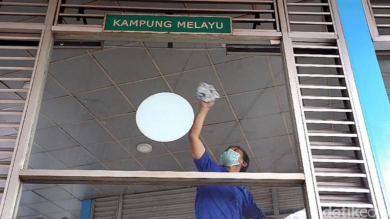 Pasca Bom, Halte TransJ Kampung Melayu Terus Dibenahi