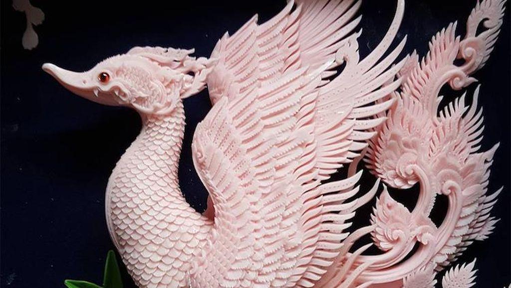 Keren! Seniman Thailand Ciptakan Ukiran dari Sabun