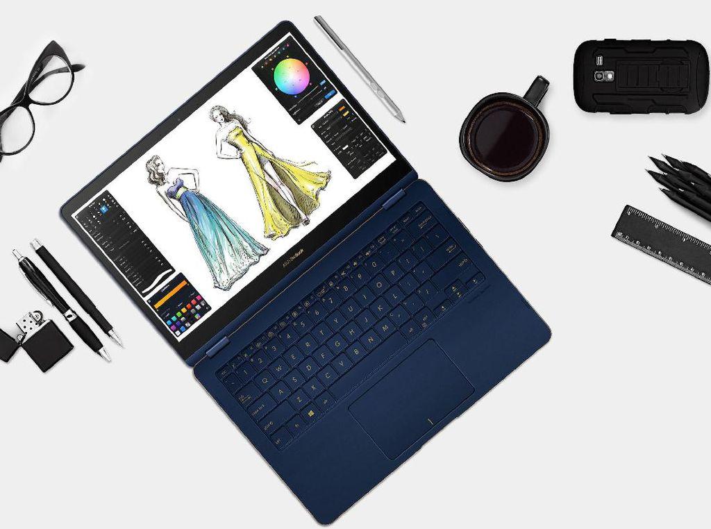 Si Ramping ZenBook Flip S Tampil Menawan