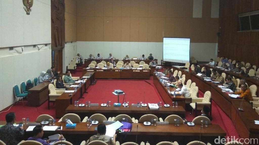 Pansus RUU Pemilu Rapat soal Penambahan Jumlah Anggota DPR