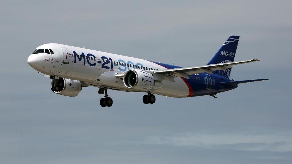 MS-21 Saingan Berat Airbus dan Boeing