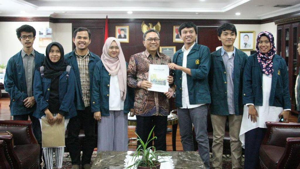 Terima BEM UI dan ITB, Ketua MPR: Pancasila Itu Senasib Sepenanggungan